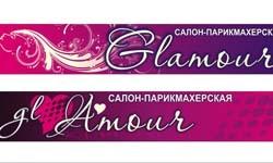 Печать на самоклеящейся пленке для салона-парикмахерской Амур
