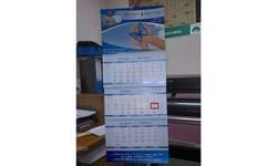 Настенный квартальный календарь для Благотворительного фонда им. Г. Шелехова