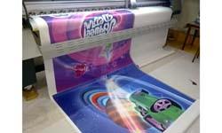 Печать на самоклеящейся пленке для магазина игрушек г. Иркутск